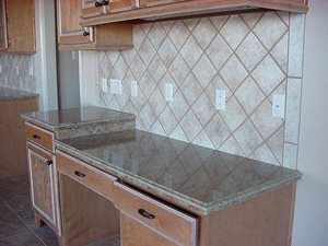 Florida Tile 5274 6 x 6 Kitchen Backsplash Tile